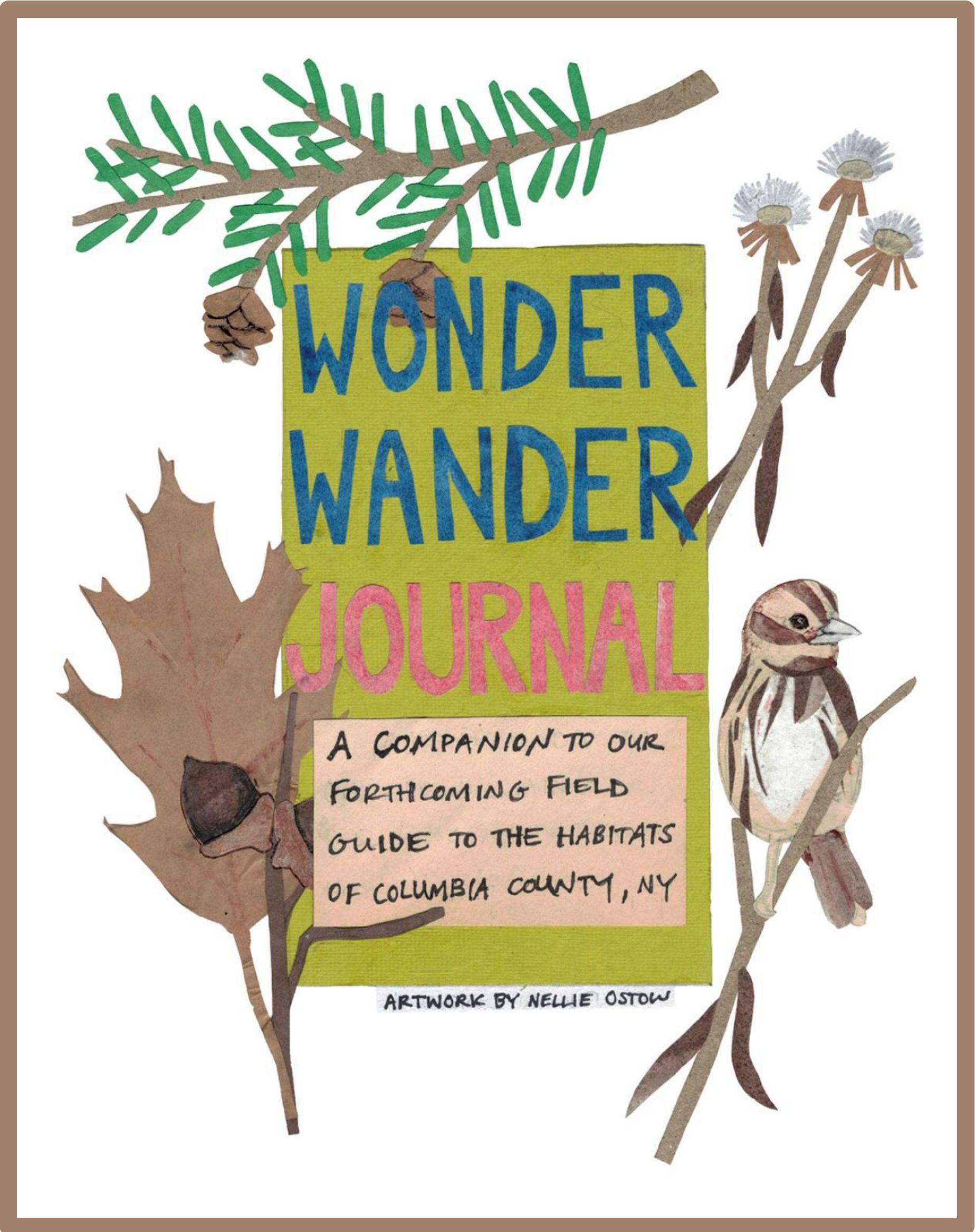 Wonder Wander journal cover