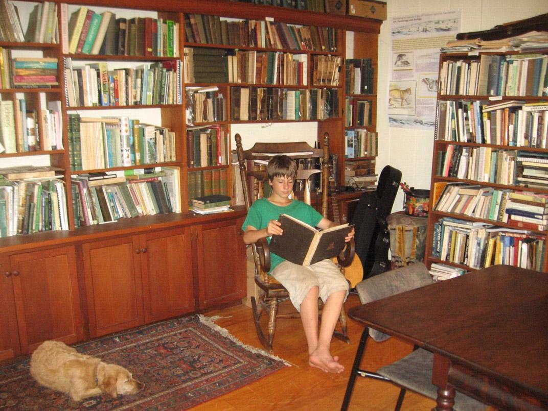 reading room farmscape ecology program