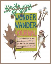 Wonder Wander journal cover